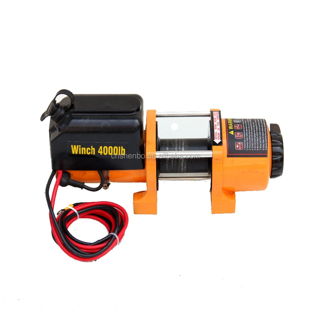 Wholesale Small Electric Winch 12v Small Electric Winch