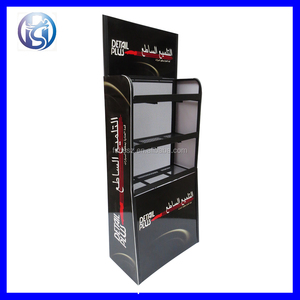 HS-ZS37 Iron Grocery Store Beer Drinks Shelf Rack Cosmetic Modern Display Rack
