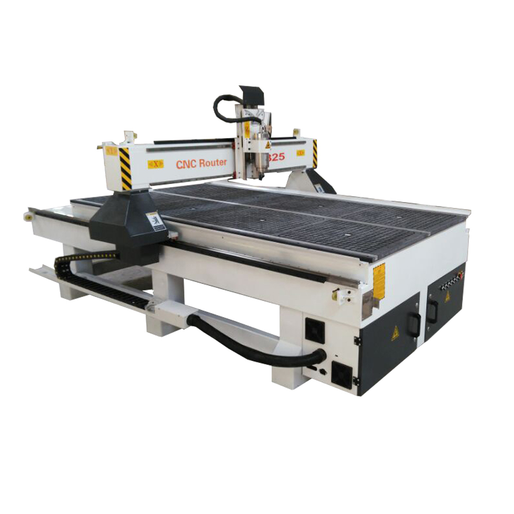 Heavy body vacuum table cnc 1325 wood cutting and carving machine