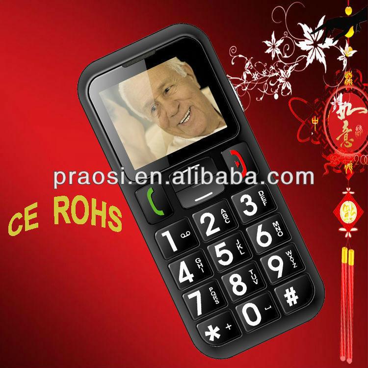 cell phone large buttons seniors meet
