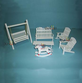 Escala 1:12 Muebles De Madera Casa De Muñecas Jardín Y Patio Muebles ...