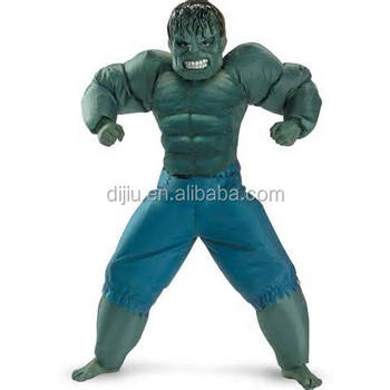 Party Costume Blue Trousers Green Hulk Inflatable Suit - Buy Inflatable  Suit,Halloween Costume,Mascot Costume Product on Alibaba com