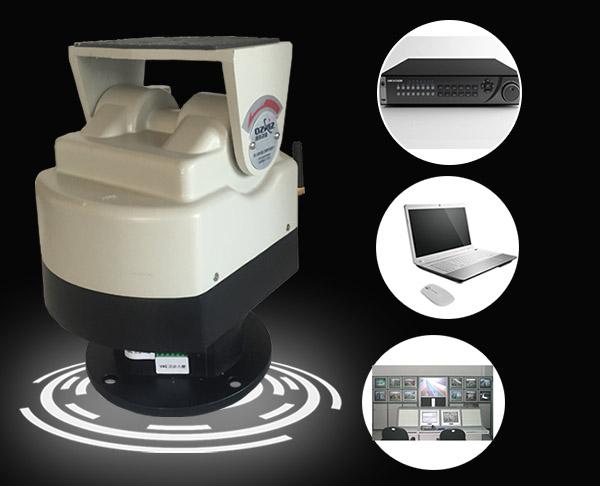 Custom logos water resistant motorized pan tilt camera for Motorized video camera mount