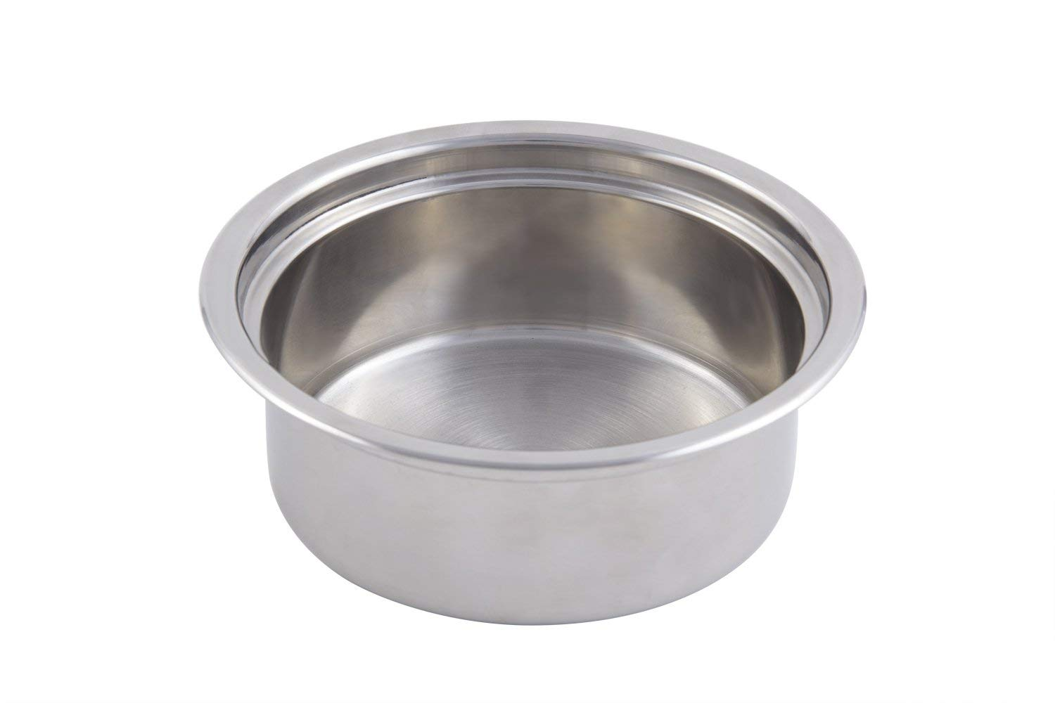 """Bon Chef 60300i Stainless Steel Classic Country French Insert Pan for 23 quart Pot, 1-1/2 quart Capacity, 2-7/8"""" Diameter x 8"""" Height"""