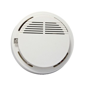 Conventional 9V battery 1.5USD Smoke fire alarm wireless security home alarm system