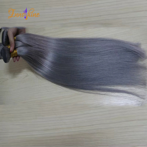 alibaba express 14inch bresilienne human hair weaving grey straight Brazilian hair bundles