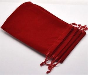 Wholesale customized crazy selling velvet bags with ch