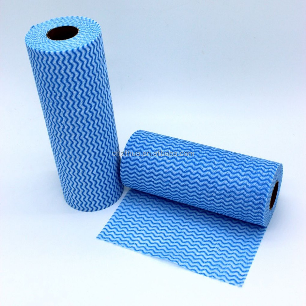[BSCI FACTORY] Kitchen use Spunlace cloth/very cheap Spunlace roll for cleaning