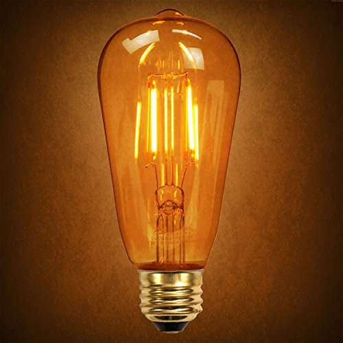 Led Vintage Edison Type 100w Equivalent 2200k St64 Dimmable ...