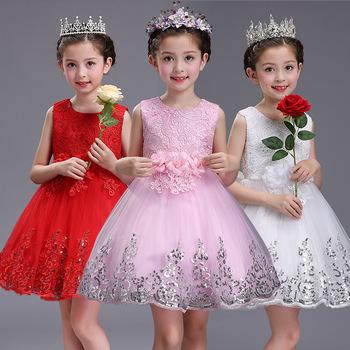 Cheap vietnam girls fancy dress pink princess party dresses flower cheap vietnam girls fancy dress pink princess party dresses flower shining performance girls fluffy dress mightylinksfo