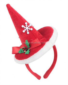 wholesale oem design fancy headband christmas novelty hats