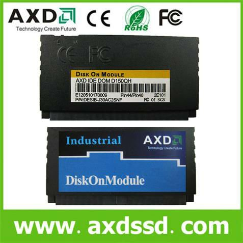 Vertical 44 pin dom Disk on chip module solid state laptop