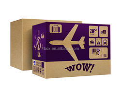 Directly factory supplier premium quality recyclable 3/5 layer delivery box
