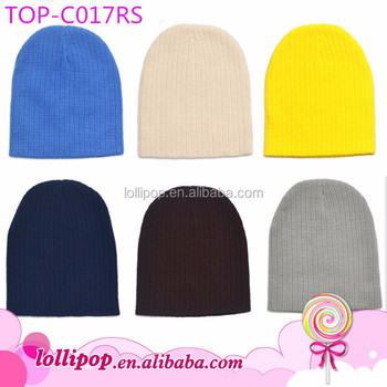 fbbc93c882b Lovely OEM knitted USA beanies multicolor baby winter solid color hat  crochet wholesale cute baby boy