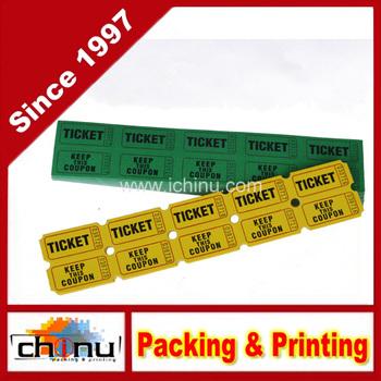 custom raffle tickets lottery ticket printing 420003