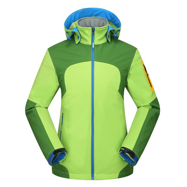 Men's Waterproof Windproof Polyester Solid Camping Climbing Running Wear Outdoor