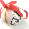 Wholesale high quality white acrylic printing Christmas Balls for Christmas ornaments