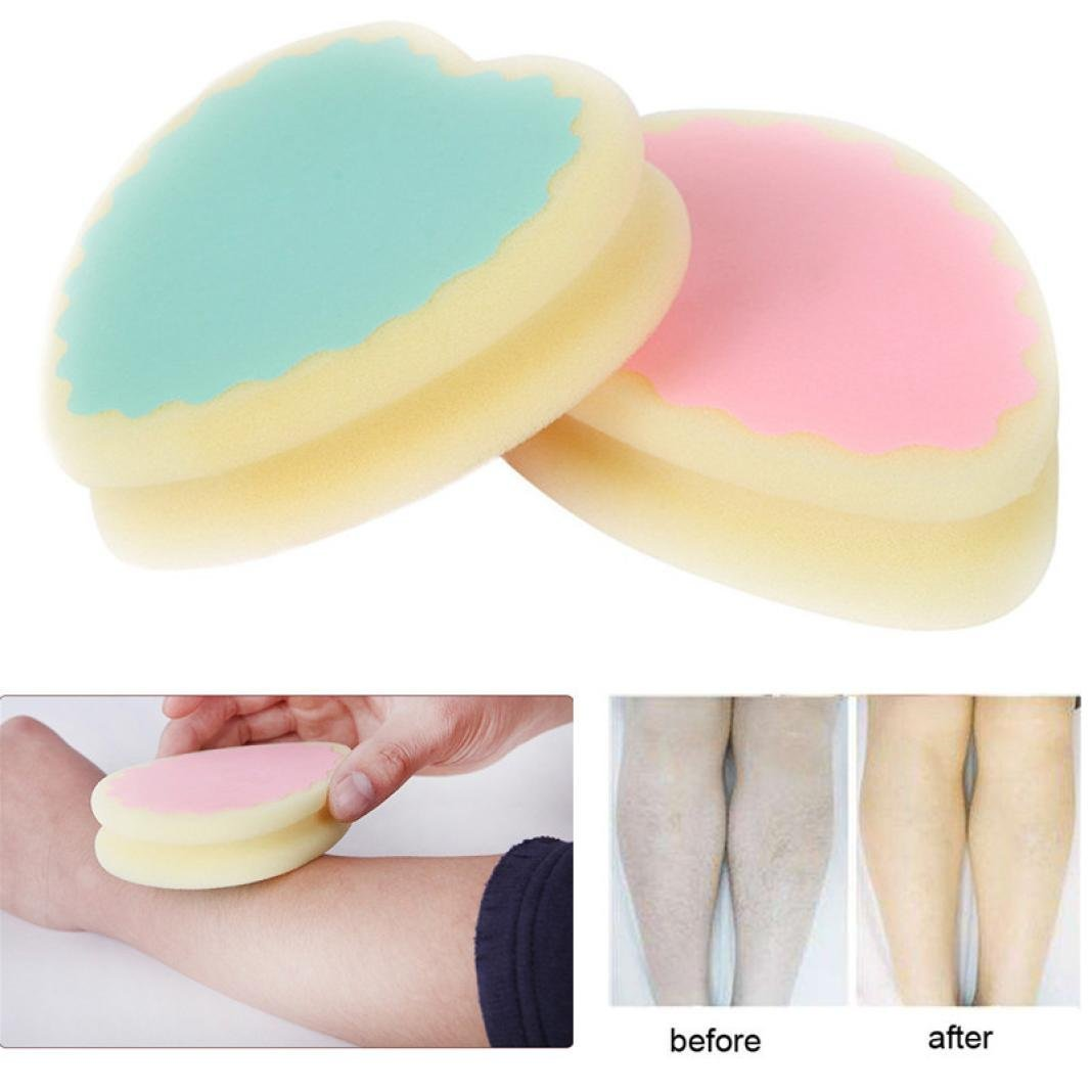 Hair Removal Cream Shaving & Hair Removal 1 Pcs Painless Depilation Hair Removal Sponge Pad Remove Hair Leg Arm Hair Remover Effective Sponge For Hair Removal Complete Range Of Articles
