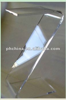 MA 700 CLEAR END U0026quot;Zu0026quot; TABLE LUCITE ACRYLIC OR ...