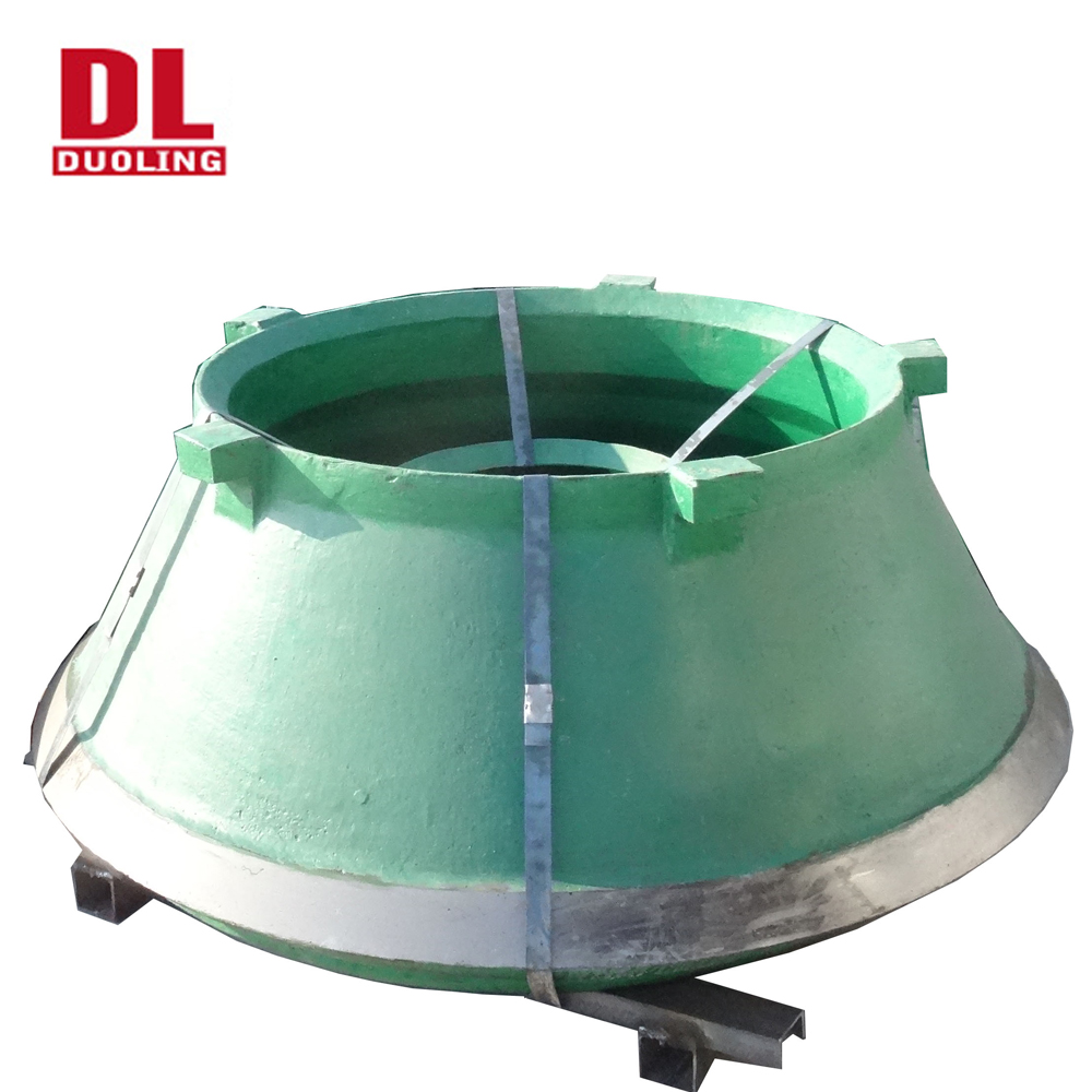 Casting Telsmith Cone Crusher Parts Bowl Liners,Mantle And Concave - Buy  Crusher Parts,Mantle And Concave,Telsmith Crusher Parts Product on