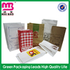 Unique custom design biodegradable grease proof take away fast food packaging bag