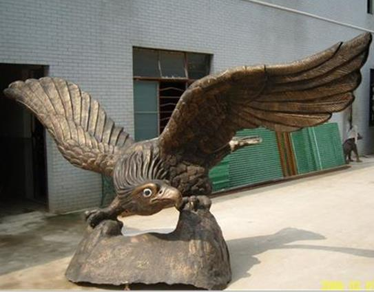 High Quality Outdoor Garden Eagle Statues Fountain