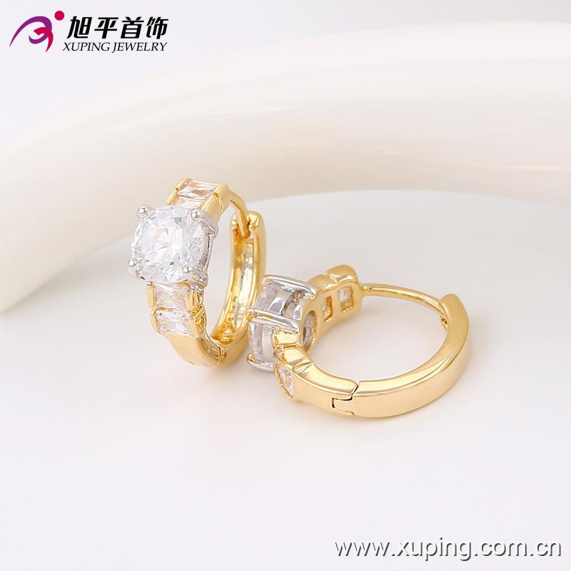 Newest Design 4 Gram Simple Gold Earrings Designs For Women - Buy ...