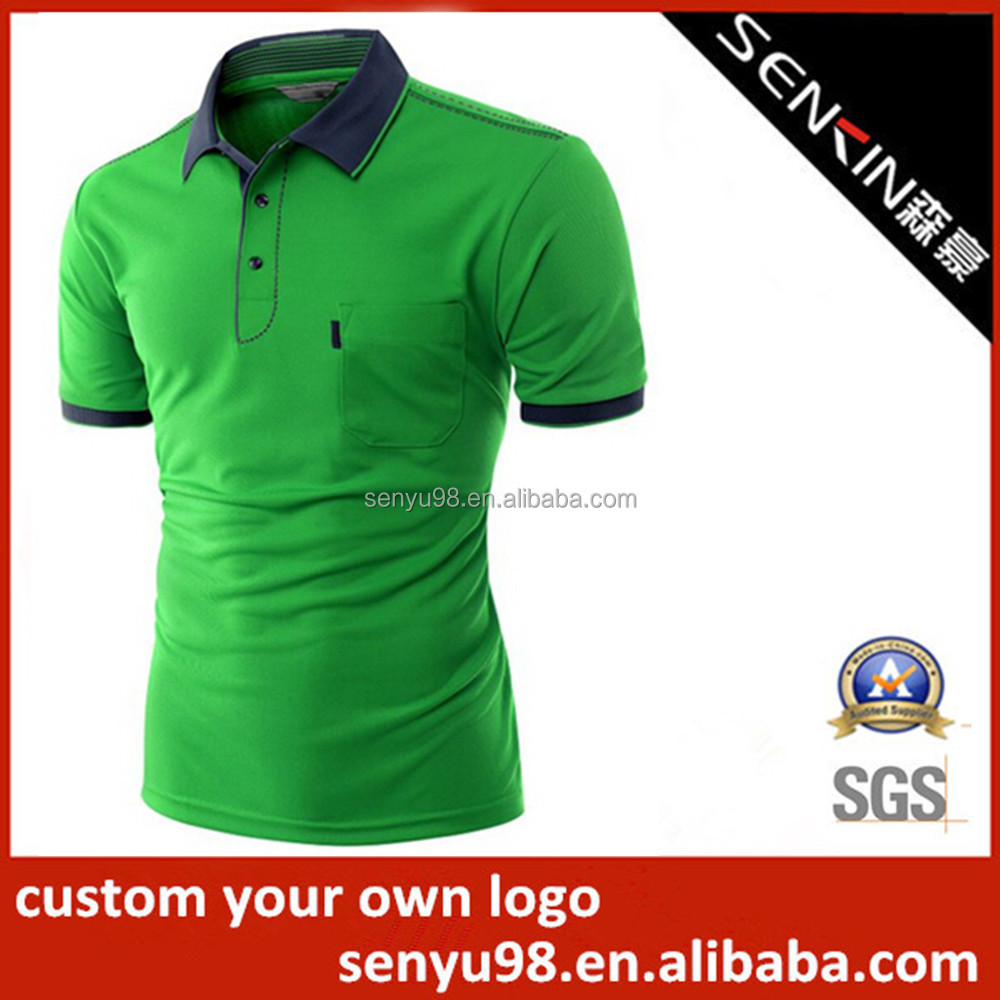 Shirt design green - Polo Shirt Made In India Golf Campaign For Man Polo T Shirt Factory
