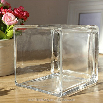 Hot Selling Cube Shape Glass Vase Fishbowl Buy Fishbowlfish Bowl