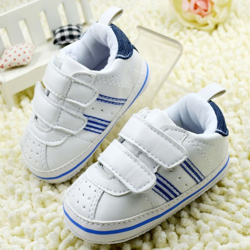 Baby Boy Girls Shoes Soft Sole Kids Toddler Infant Boots Prewalker First Walkers