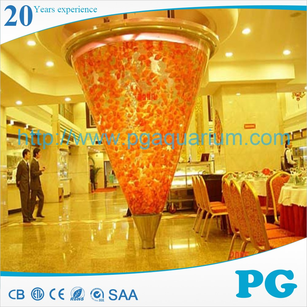PG Made In Shanghai Custom Tank Acrylic Sea Aquarium Fish