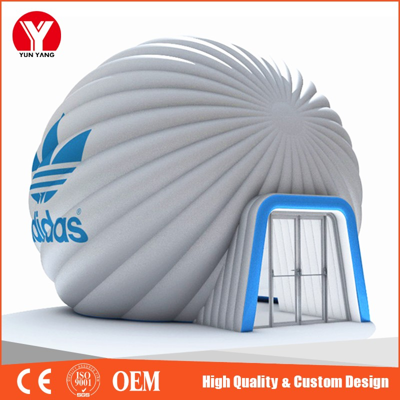 Inflatable Dome Tent ,Clear Outdoor Inflatable Bubble Tent for Advertising