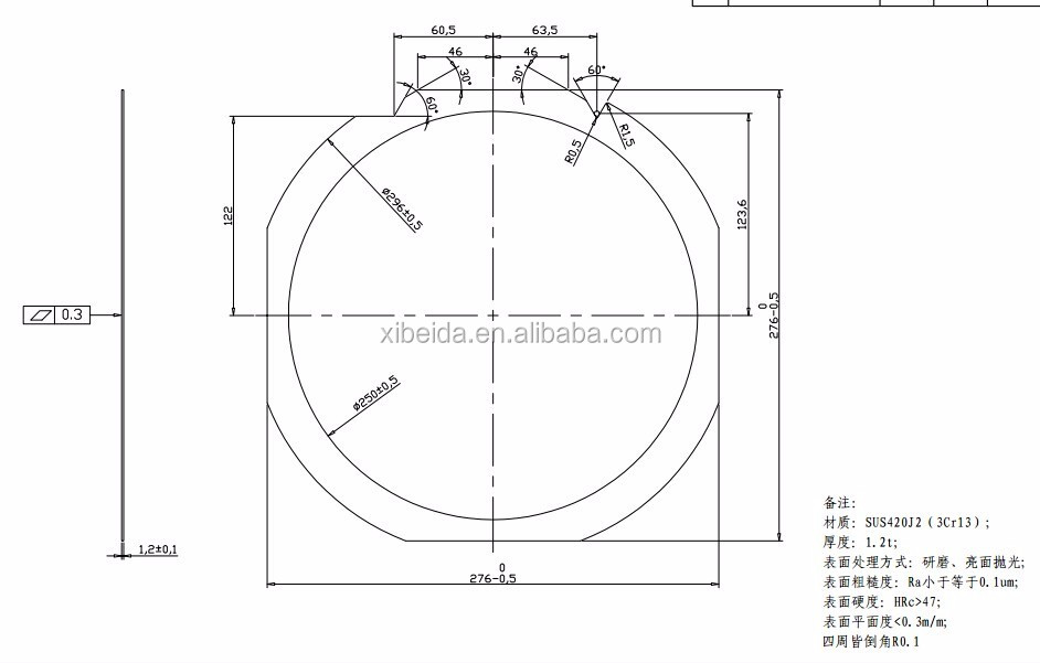 300mm wafer frame ring,300mm film wafer frame ring box, View 300mm wafer  frame, xibeida, Entegris Product Details from Huangshan Xibeida Elec Tech