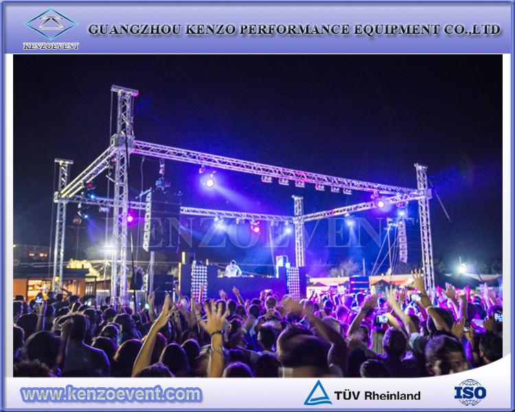 Outdoor concert lighting aluminum stage truss system for sale buy outdoor concert lighting aluminum stage truss system for sale aloadofball Choice Image