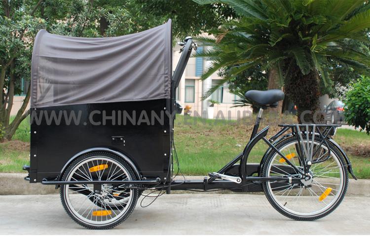 Three Wheel Cargobike Box Tricycle Bike Cargo Cycle
