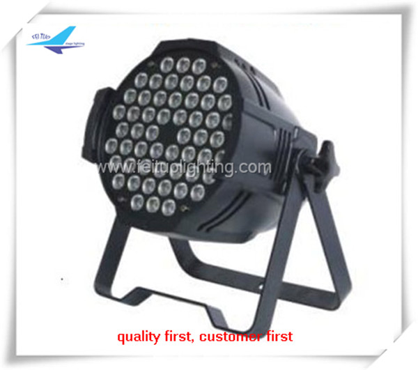 Indoor stage decoration lighting led par64 dmx stage led 54 3w par light