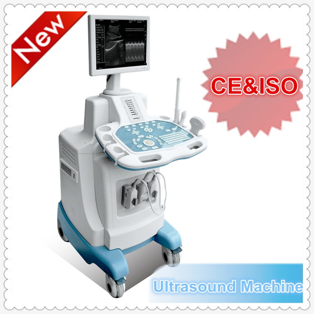 trolley white/black b ultrasound scanner & pregnant ultra sound