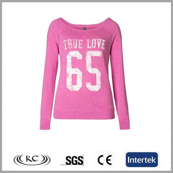 bulk wholesale 100%cotton high quality pink ladies scoop neck tee