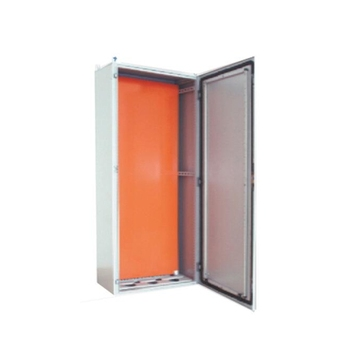 Wall Mounting Sheet Steel Box Double Folded Electrical Power Metal Enclosure Distribution Box