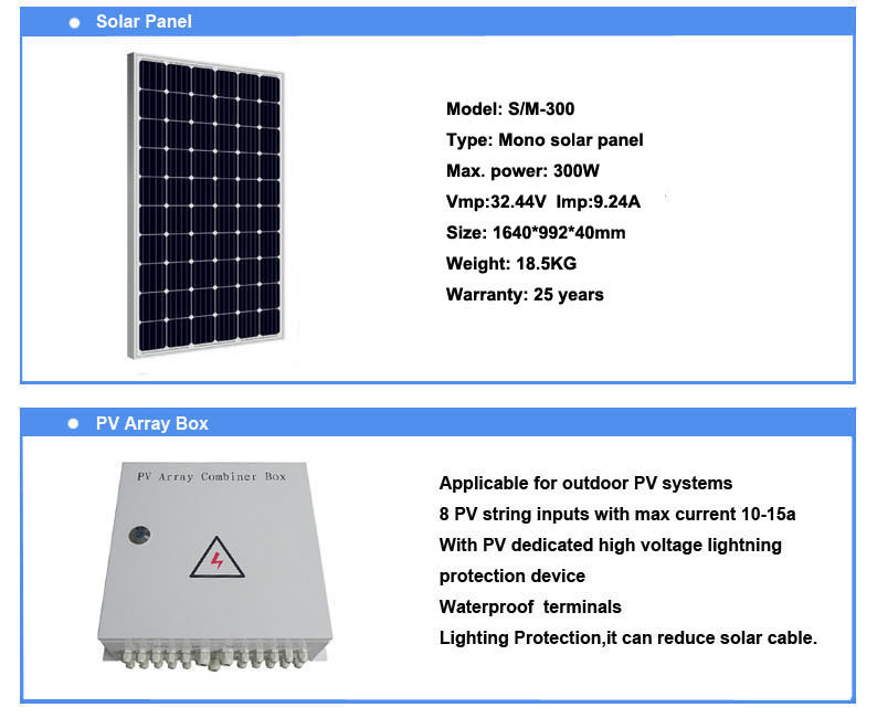 OUYAD 10KVA 15KVA off grid solar panel solar energy system for home wholesale price