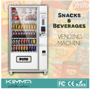 reverse drink /snack vending machine with coin exchanger