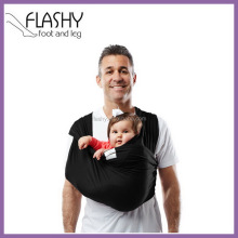 Hot selling baby carrier organic cotton baby sling wrap carrier