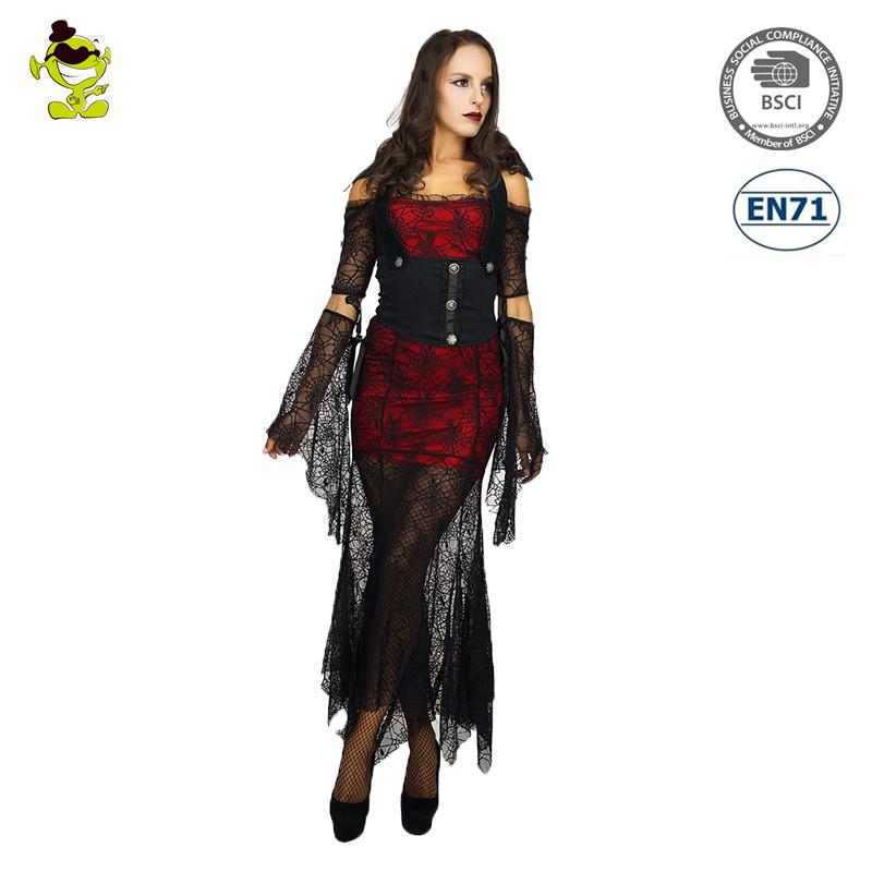 Лидер продаж Хэллоуин паук вампир костюм женщина вечерние ... - photo#11