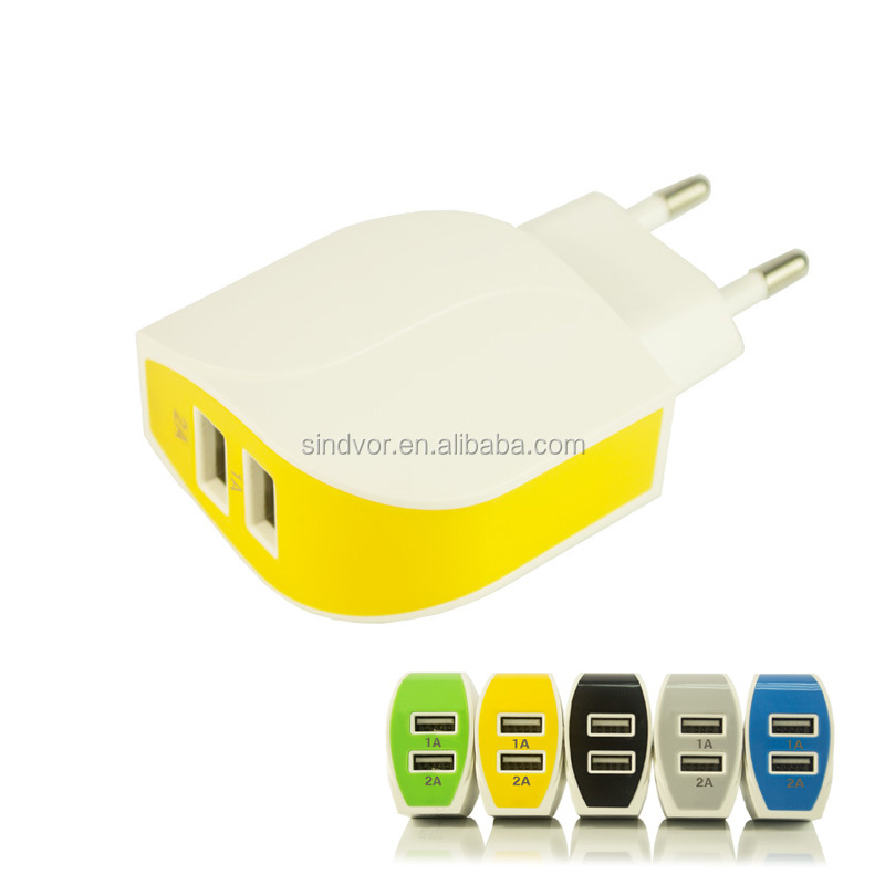 Newest EU charger /US Plug 5V 1A Universal USB Wall Charger for Mobile Phone