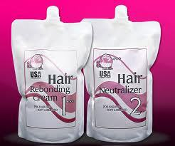 1000ml*2 Best Permanent Hair Rebonding Cream Hair Rebonding Price ...