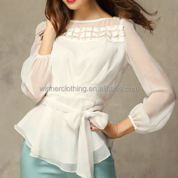 Beautiful Long Sleeve Office Wear Elegant Designs Good Price ...