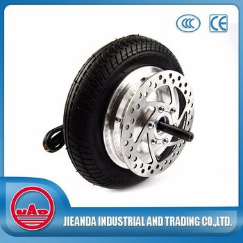 8.5inch electric motorcycle brushless wheel hub motor for sale