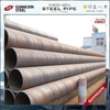 high precision sprial cold rolled steel tube/pipe