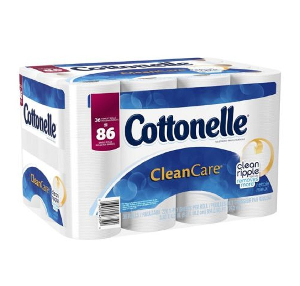 Get Quotations Cottonelle Septic Safe Clean Care Sewer Strong Effective Toilet Paper Bath Tissue 36