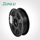 Super Sept 175mm 3mm abs conductive filament carbon plastic black refill for fdm printer